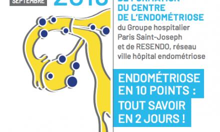 4èmes Journées de Formation du Centre de l'Endométriose (RESENDO)