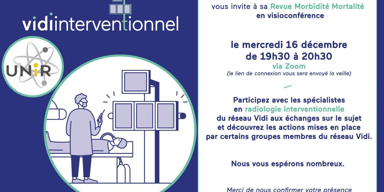 Vidi – partage de cas de RMM&nbsp – le mercredi 16 décembre (visioconférence)